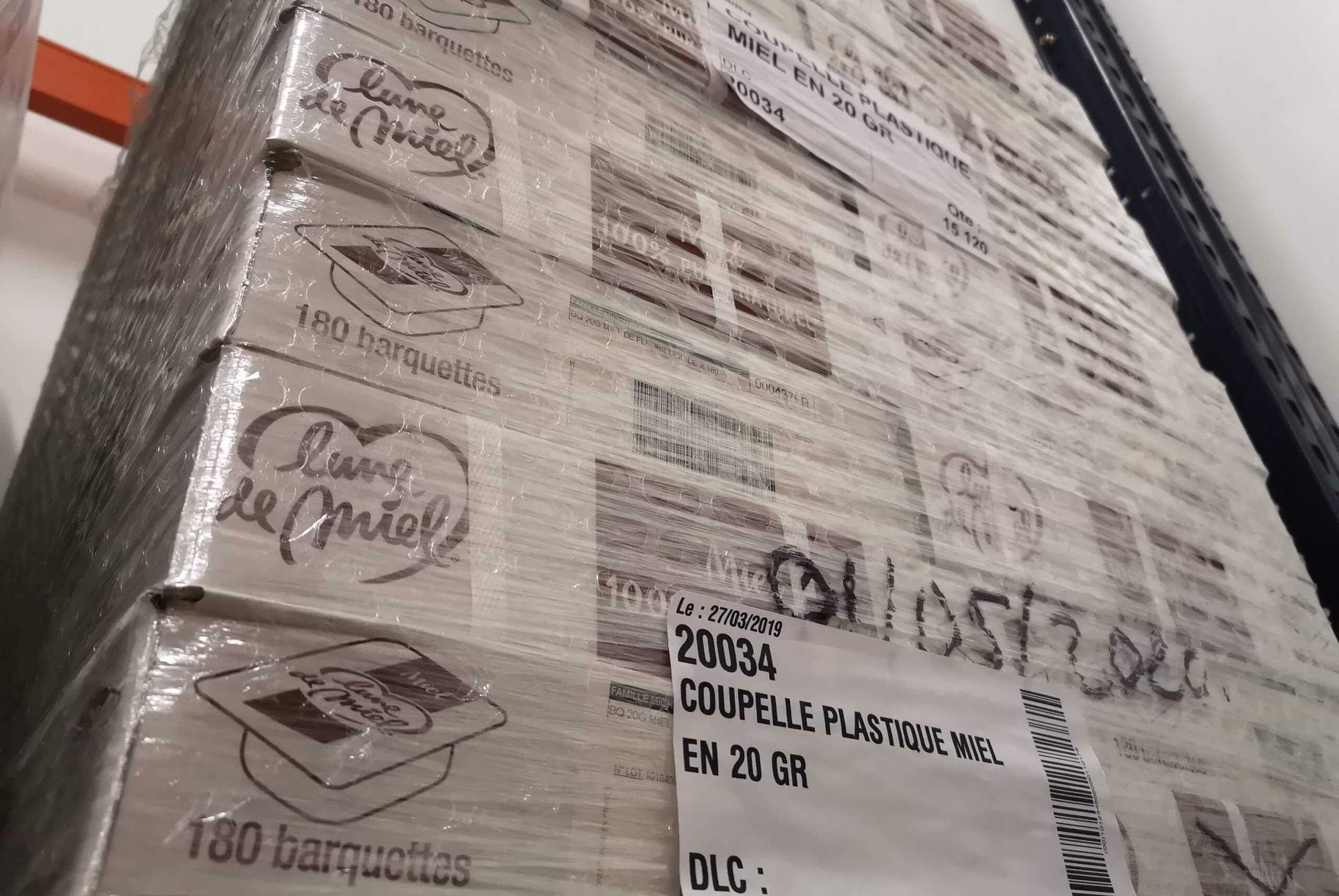 Distribution - produit alimentaire - petit dejeuner - logistique